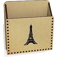 Azeeda 'Eiffel Tower' Wooden Letter Holder/Box (LH00034176)