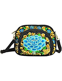 dc4a111745d06 My Other monedero cartera Bolsa Boho Hobo hmong con bordado Vintage estilo  étnico bolso Bandolera de mujer Bolsa con llavero cartera Puerto…