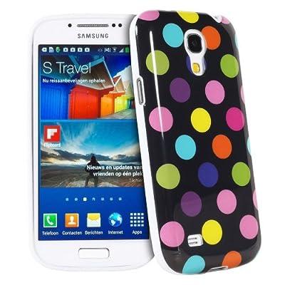 Silikon Polka Dots Hülle Hüllen Schutzhülle Tasche Etui Protection Case Protective Cover Für Samsung Galaxy S4 Mini i9190 i9192 i9195 Schwarz Und Bunt von Atechport bei Lampenhans.de