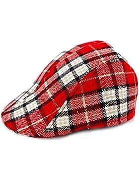 ARAUS Bonia para bebé Diseño de Cuadros Gorra de Visera Sombrero Gorra de Béisbol 2-8Años