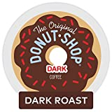 Donut Shop Donut Shop Dark Roast Extra Bold Coffee, K-Cups, 12 Cups, Pack of 1