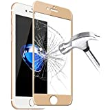 Tempered Glass 9H Full Cover Screen Protector For iPhone 7 - Gold