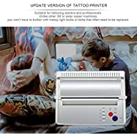 WOSOSYEYO Tattoo Transfer Kopierer-Drucker-Maschine Thermal Stencil Maker EU/US-Stecker