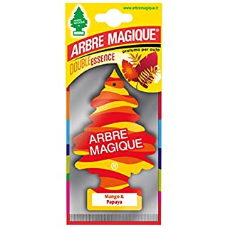 Lampa Arbre Magique Mono, Lufterfrischer für Auto, Duft Mango & Papaya, verlängert bis zu 7 Wochen.