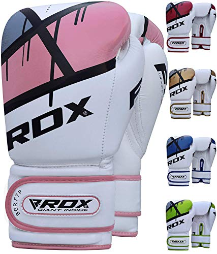 7a849b61f9 RDX Gants de Boxe Ego Muay Thai kickboxing Gant Sac Frappe Sparring  Entrainement Mitaines Competition Maya Hide Cuir Boxing Gloves