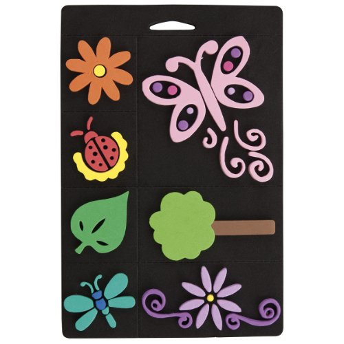 craft-planet-7-piece-foam-stamp-set-flowers-and-bugs-multi-colour