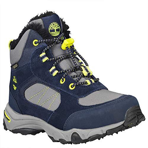 Timberland Unisex Kids  Ossipee Classic Boots  Blue  Navy 19   1 5  34 EU