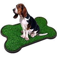 Inodoro para perros, inodoro para perros pequeños, grandes perros, perros mayores, animales, inodoro, interior 70 x 45 x 4 cm (largo x ancho x alto)