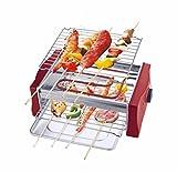 LJIE Elektrischer Ofen Zu Hause Rauchloser Elektrischer Ofen Grill-Maschine Grillhaus Großer...