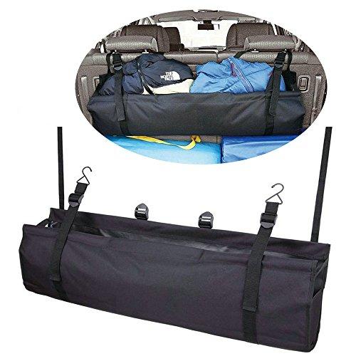 Preisvergleich Produktbild Faltbarer Fahrzeug Rücksitz-/Kofferraum-Organizer, zum vielseitigen Verstauen geeignet