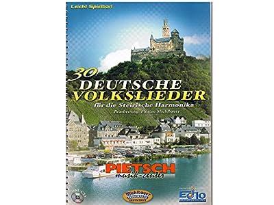 30 Deutsche Volkslieder. Handharmonika