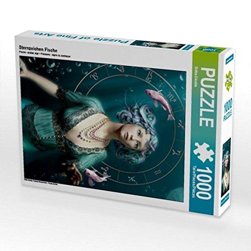 Sternzeichen Fische 1000 Teile Puzzle hoch -