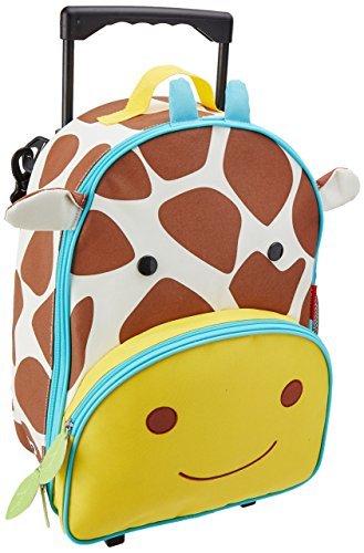Preisvergleich Produktbild Skip Hop Zoo Luggage, Reisetrolley für Kinder, mit Namensschild, mehrfarbig, Giraffe Jules