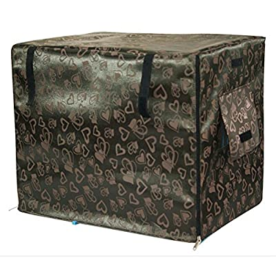 Pet Indoor/Outdoor Cabana Crate Cover