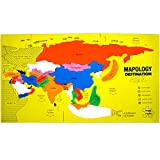 Imagimake Mapology Destination Asia Map Puzzle, Multi Color