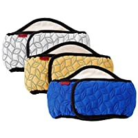 Mkouo Male Dog Belly Band Wraps Incontinency Nappies for Small and Medium Dogs (3 Pack)