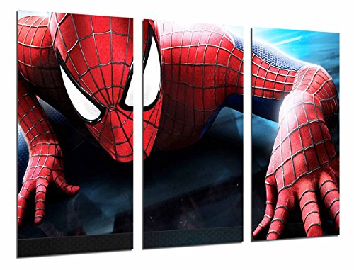 Cuadro Moderno Fotografico Spiderman, superheroe, hombre araña, 97 x 62 cm, ref. 26566