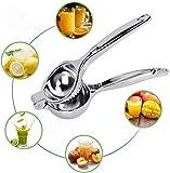 DDYX2020 - Spremiagrumi acciaio inox - Spremiagrumi manuale - Gadget da cucina per spremiagrumi - Argento