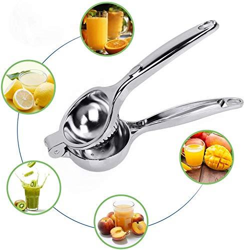 DDYX -22 cm Abrazadera de limón de Acero Inoxidable - Exprimidor de limón Manual - Exprimidor de Frutas...