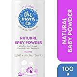 #5: The Moms Co. Talc-Free Natural Baby Powder with Corn Starch, Chamomile Oil, Calendula Oil and USDA-Certified Organic Jojoba Oil - 100g