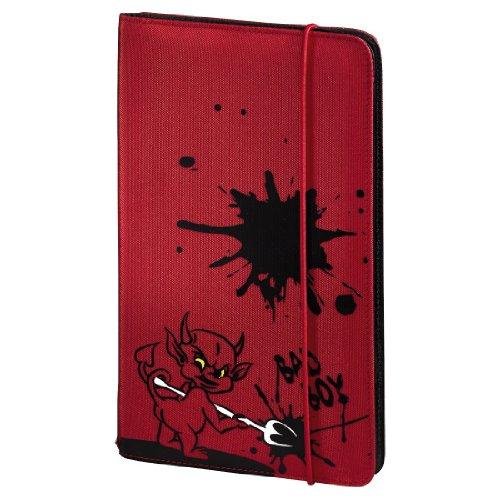 Motive Cd (Hama CD Tasche Up to Fashion (für 48 Discs, CD / DVD / Blu-ray / Hörbücher, Mappe zur Aufbewahrung, platzsparend für Auto und Zuhause, Mit Teufel Motiv) Rot)
