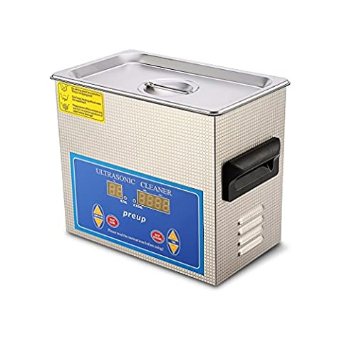 ICOCO 3L Digital Ultrasonic Cleaner, Stainless Steel High-Power Ultrasonic Washer with Digital Timer Jewelry Watch Glasses