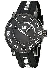 CAT Bold II Men's Watch Black & White Dial Black Silicone Strap NM16122112