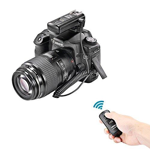 Neewer® FC-16 Mehrkanal 2.4GHz 3-IN-1 Funk Blitz – Studio Blitzauslöser mit Fernauslöser für Canon