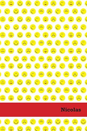 Etchbooks Nicolas, Emoji, Wide Rule
