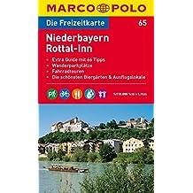 MARCO POLO Freizeitkarte Niederbayern, Rottal-Inn 1:120.000