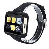 TPulling Mode Intelligente IS5 Smartwatch Armbanduhr Entsperrt Kleinste Telefon Ultra Thin Mini Handy Multifunktionales BT 4.0 Fitness Tracker SmartBand (Gold)