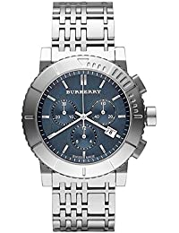 amazon co uk burberry watches authentic swiss burberry top luxury trench chronograph watch men women stainless steel blue date dial bu2308