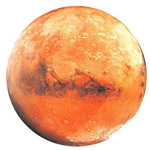 Wandaufkleber, erthome 3D Planet fluoreszierende Erde Sonne Wall Sticker Aufkleber Kinderzimmer Dekor (B Mars) (Dekor Papier-fan)