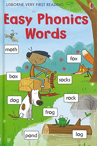 Easy Phonic Words (Usborne Very First Reading) (1.0 Very First Reading)