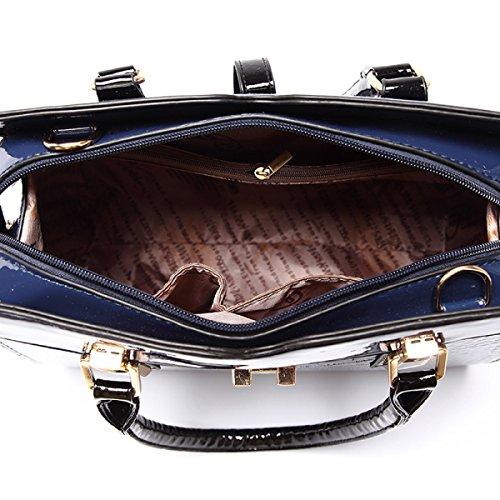 LAIDAYE Ms. Schulter Messenger Handtasche 2