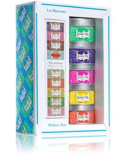 Kusmi Tea - Coffret Miniatures - Les Bien-être
