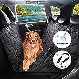 Hundedecke Auto, BRIGHTSHOW Autoschondecken für Hunde Rücksitz, Anti-Rutsch Hunde Autodecke, Hund Sitzbezug, wasserfest, Kratzer Proof, maschinenwaschbar, Rücksitz Abdeckung für Autos, Trucks und SUVs