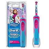 Oral-B Stages Power Rechargeable Electric Toothbrush for Children with Frozen Disney Characters, with 1 Handle and 1 Head