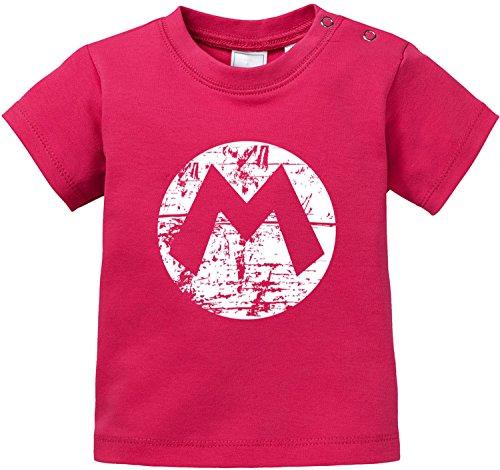 EZYshirt Mario Baby T-Shirt Bio Baumwolle