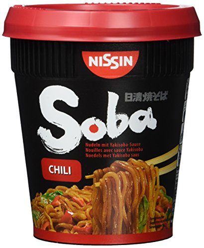 Nissin Soba Cup Chili 4er Pack title=