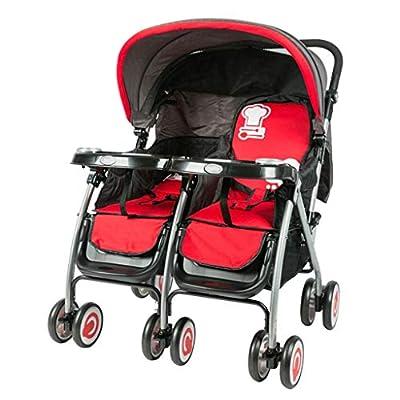 Baby car Lightweight Umbrella Folding twin Pushchair Twin Doll Stroller