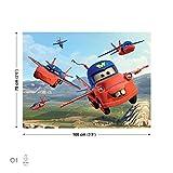 Disney Cars Fliegender Hooks Leinwand Bilder (PPD72O1FW)