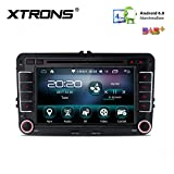 Xtrons 16 G ROM Android 6.0 Quad Core 17,8 cm HD digitale touch screen Car stereo radio lettore DVD GPS OBD2 Screen mirroring per Volkswagen Seat Skoda Golf Passat Jetta