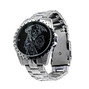 Sons of Anarchy Grim Reaper Stainless Steel Montre