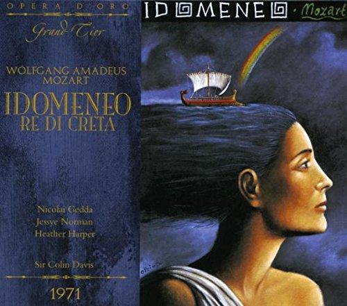 Mozart : Idomeneo. Norman, Harper, Gedda, Davis.