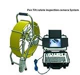 MabelStar mabelstar Wasserdicht 360Grad drehen Kanalisation Ablauf Pipeline Inspektion Kamera mit 512Hz Sonde Kamera und piple Locator Recever