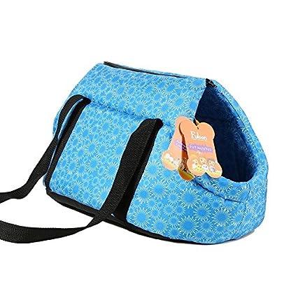 Pet Travel Carrier Tote Bag - SODIAL(R) Foldable and washable Small Dog Cat Pet Travel Carrier Tote Bag Purse Bag Soft… 4