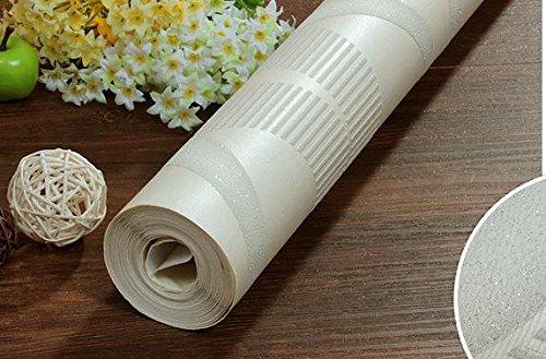 BBSLT High-grade non-tessuto modello wave living stereo in camera moderna camera da letto minimalista sfondo , metri bianco ,