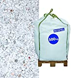 Marmorsplitt Carrara 5-8 mm 500 kg Big Bag