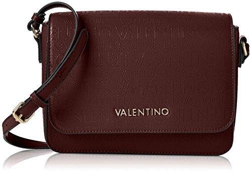 Mario Valentino Valentino by Damen Clove Business Tasche, Violett (Bordeaux), 9.0x18.0x24.0 cm